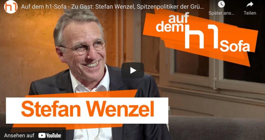 Stefan Wenzel auf dem h1 Sofa